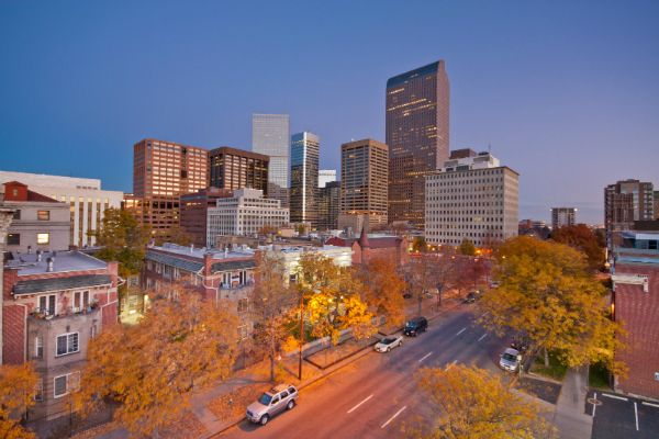 Denver Central Business District real estate