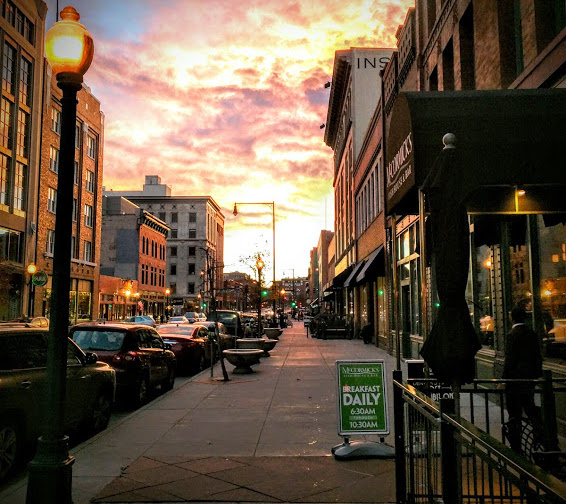 LoDo neighborhood downtown Denver