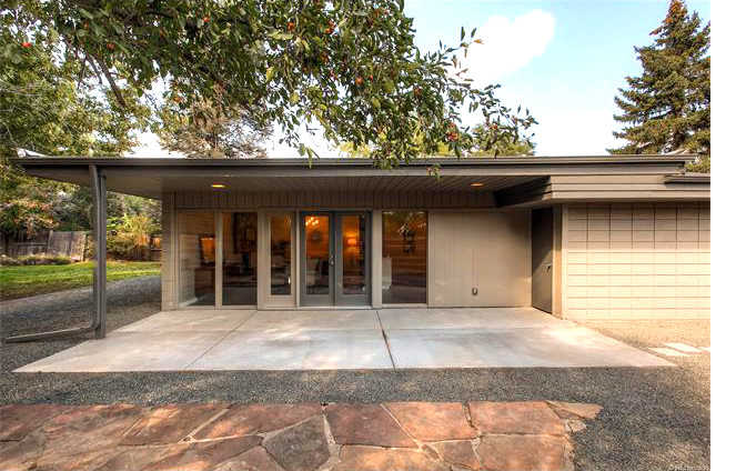 Arapahoe Acres mid century modern home